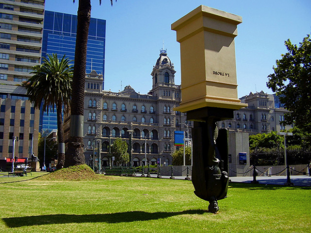 13-Charles La Trobe Statue, Melbourne, Australia