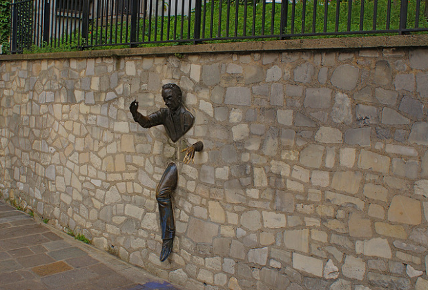 24-Le Passe-Muraille, or Man in the Wall, Paris, France