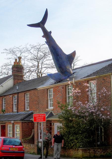 4-The Headington Shark, Oxford, UK