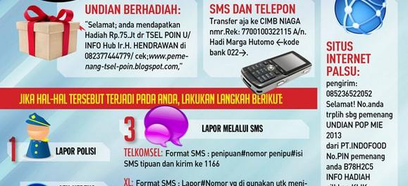 Cara Melaporkan Sms Penipuan Telkomsel Indosat Xl