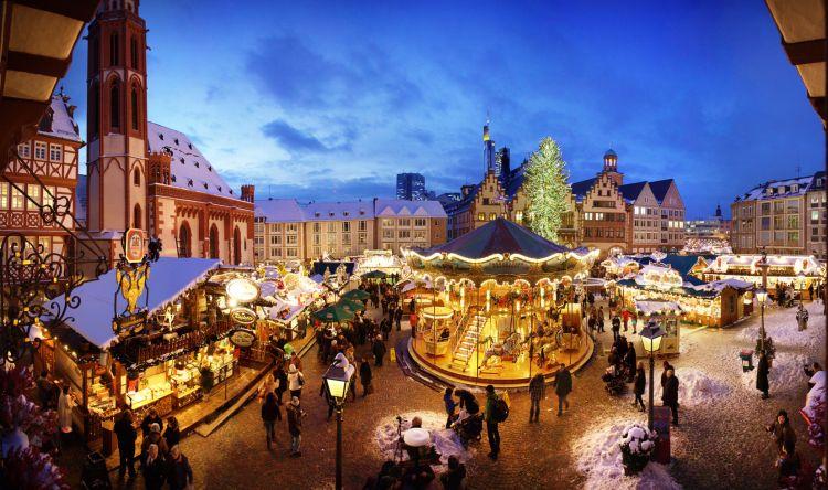 Frankfurt Christmas Market via idnshow.com