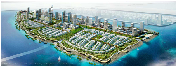 Gambar rencana pengembangan Pluit City (Sumber: Agung Podomoro)