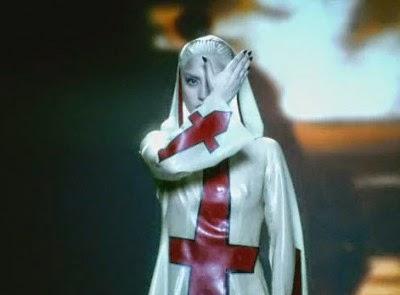 Gaga satanic priestess