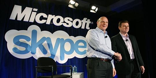 microsoft akuisisi skype