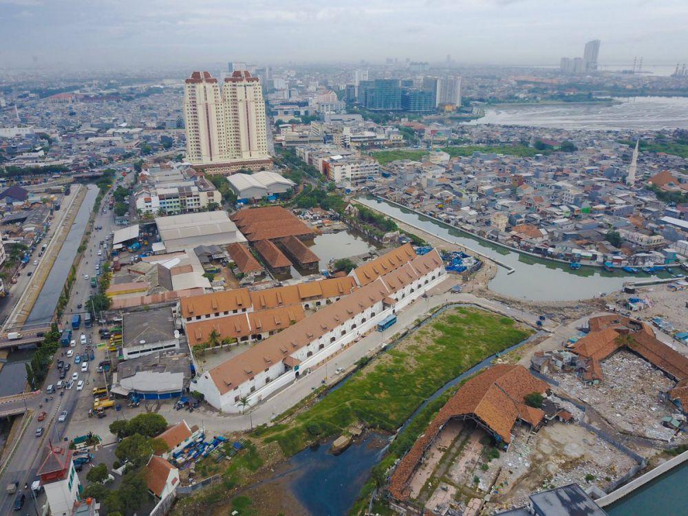 Bekas Pasar Ikan Penjaringan, Jakarta Utara