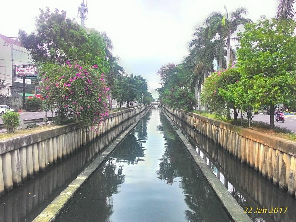 Kali Cideng Gambir Jakarta Pusat