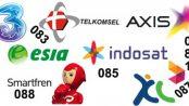 Nomor Awal Operator Seluler Indonesia