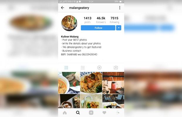 kuliner malang instagram