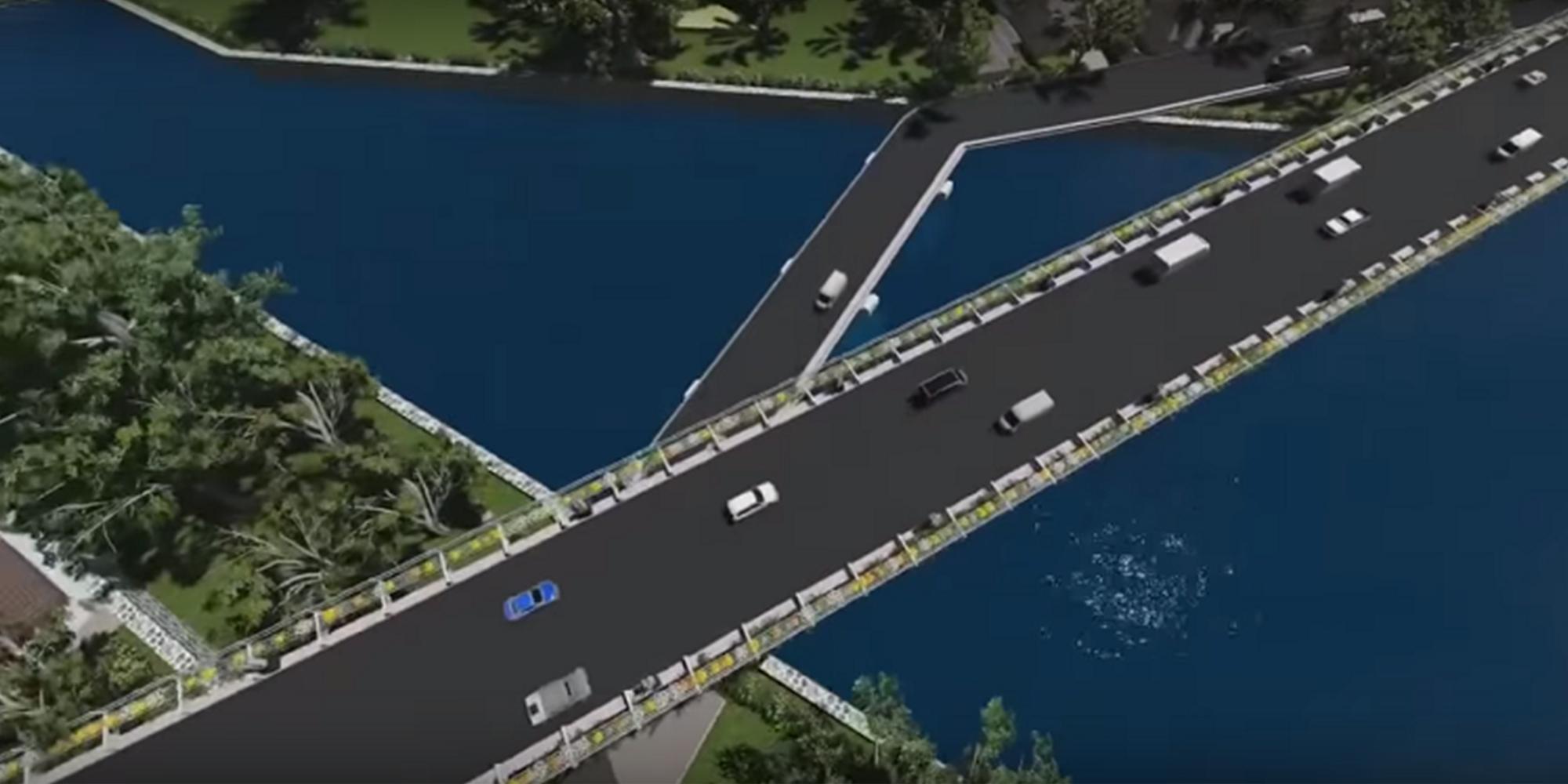 Pembangunan Jembatan Kedungkandang Malang
